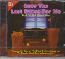SAVE THE LAST DANCE FOR ME - VARIOUS ARTISTS on 2 CD's - NEW -