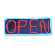 Rectangular LED Open Signs Neon Styles Large Letter Display Business Sign Board