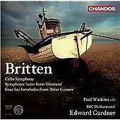 BENJAMIN BRITTEN CELLO SYMPHONY SYMPHONIC SUITE FROM GLORIANA NEW/SEALED