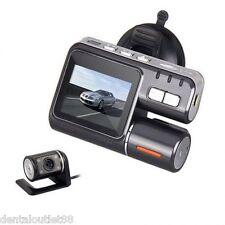 2016New 1080P Dual Lens Car Vehicle DVR Camera Dashboard Video Recorder G-sensor