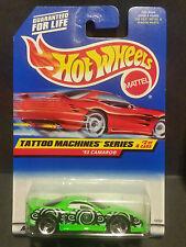 1997 Hot Wheels #686 Tattoo Machines Series 2/4 '93 Camaro  - 18768