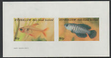 GB Locals - Eynhallow (1542) - 1982 TROPICAL FISH imperf sheetlet u/m