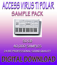 ACCESS VIRUS TI POLAR SAMPLES FOR PROPELLERHEADS REASON, REFILL + WAV *DOWNLOAD*