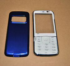 COVER HOUSING COMPATIBILE per NOKIA N79 BLU CON TASTIERA