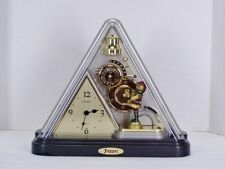 Rare Collectible SEIKO PUPPET CLOCK Musical Melodies with MOTION Mantle Triangle