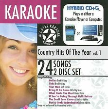 Karaoke Karaoke: Country Hits of the Year, Vol. CD
