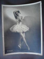 PHOTO VINTAGE DANSEUSE CALIFORNIENNE EDUA BREYMAN 1945 BALLETS RUSSES