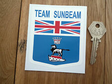 TEAM SUNBEAM Shield Classic Car Sticker 75mm Rapier IMP Alpine Tiger Rootes etc