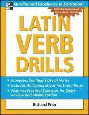 Drills: Latin Verb Drills by Richard Prior (2005, Paperback)
