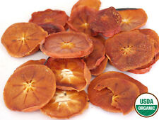 Organic Dried Persimmon Slices, 2 lb-Green Bulk