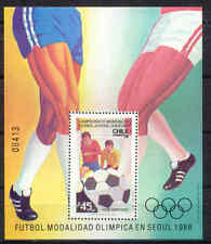 Olympiade 1988, Olympic Games, Fußball - Chile - Bl.5 ** MNH