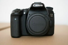 Canon EOS 70D 20.2MP Digital SLR Camera - Black (Body Only) ***3 Day Listing