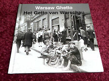 WARSAW GHETTO Eng. BOOK, Boek Het Getto van Warschau . Holocauste Judaica Album