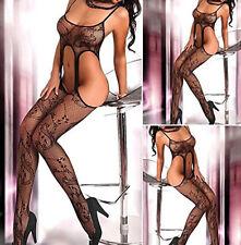 Women Sexy Lingerie Nightwear Open Fishnet Body Stocking Bodysuit Underwear