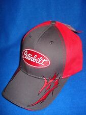 PETERBILT HAT:       RED / CHARCOAL GREY TRIBAL       *FREE SHIPPING*