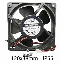 120mm 38mm New Case Fan 12V 120CFM Ball IP55 Waterproof Cooling 2pin 12038 299*