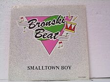 "BRONSKI BEAT ""SMALLTOWN BOY / MEMORIES""  45w/PS MINT"