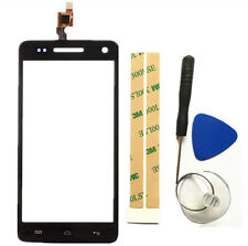 Black Touch Screen Digitizer Glass Replacement Parts For WIKO Rainbow