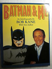 BATMAN & ME by BOB KANE Regular Softcover (1989/Fine, 7.0 in grade)