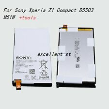 LIS1529ERPC Genuine Battery For Sony Xperia Z1 Compact D5503 M51W + tools
