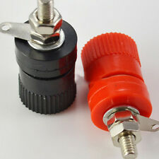 2pcs  Amplifier Terminal Binding Post Banana Plug Jack Panel mount Lager Size