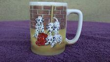 Otagiri Japan Dalmation 12oz Coffee Mug Cup Firehouse Puppy Dogs by Linda Picken