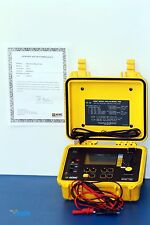 AEMC 1060 1000V Megohmmeter 1kV Insulation Tester - NIST Calibrated