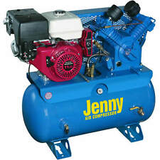 Jenny 11-HP 30-Gallon Two-Stage Truck Mount Air Compressor w/ Honda Engine