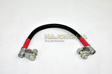 Battery connection cable with pole terminals pole bridges 24 V 35 mm²
