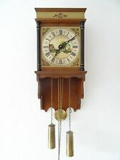 Antique Warmink WUBA Dutch Vintage Wall Clock (Junghans Hermle Kienzle era)