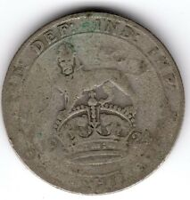 1924 12d 1s Silver ONE SHILLING twelve pence King George V (a)