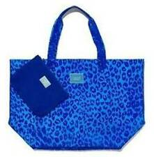 Victorias Secret Pink XLg Clear LEOPARD Jelly Tote Beach Bag W/wallet Duffle NWT