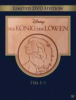 Der König der Löwen 1-3 Holzbox (2011) - Trilogie - DVD - NEU&OVP
