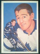 FRANK MAHOVLICH (TORONTO MAPLE LEAFS) HALL OF FAME INDUCTED IN 1981