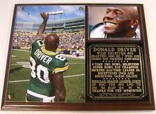 Donald Driver #80 Retired Packers Rec Yards & Recptions Leader Photo Plaque