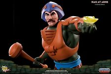 MAN AT ARMS PCS STATUE EXCLUSIVE MOTU SOLD OUT MASTERS OF THE UNIVERSE HE-MAN