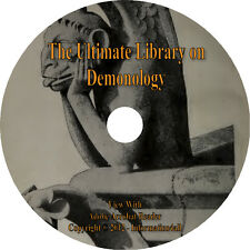 63 Books on DVD, Ultimate Library on Demonology, Demon Satan Occult Spirits