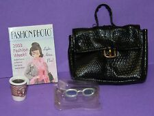 2014 Silkstone Barbie Ken FASHION INSIDER BRIEFCASE & Accessories Great Dioramas