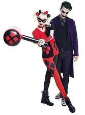 DC COMICS Licensed XL HARLEY QUINN Black Red Blow Up MALLET COSTUME Prop COSPLAY