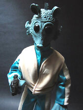 "Star Wars 12"" 1/6 scale Hasbro Greedo Action Figure Alien bounty hunter monster"