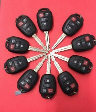 OEM*(LOT of 10)*TOYOTA COROLLA 2014-16   H-CHIP KEY LESS ENTRY REMOTE  FOB 4Butn