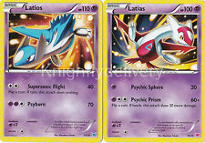 Latios 13/30 + Latias 14/30 - Near Mint - Pokemon