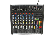 CITRONIC CSL-8 COMPACT LIVE MIXER 10 INPUT WITH DSP MIXING CONSOLE PA 170.852