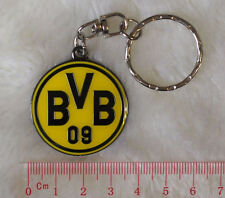 kiTki Dortmund BVB metal badge football soccer keychain key chain alloy ring