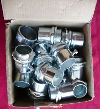 """Lot of forty (40) Cooper 452 set screw type 1"""" connectors for thin wall conduit"""