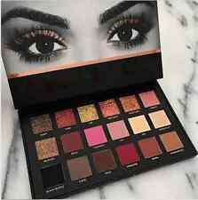 HUDA BEAUTY Professional 18 Colors Textured Matte Palette Makeup Eye Shadow