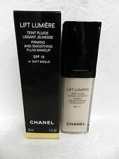 CHANEL LIFT LUMIERE LIQUID FLUID MAKEUP FOUNDATION 41 SOFT BISQUE SPF 15 1oz NIB