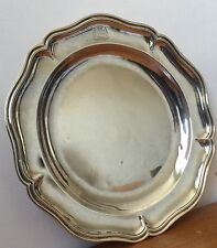 PLAT XVIII REIMS ARGENT OLD SILVER ARMOIRIE MARIAGE COMTE 1767 CROWN 18th 550 gr