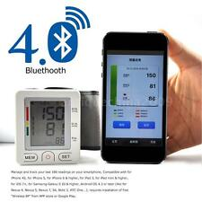 Bluetooth 4.0 Digital LCD Blood Pressure Monitor Tonometer Meter Detector T0U5