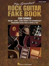 The Greatest Rock Guitar Fake Book Sheet Music Real Book Fake Book NEW 000240148